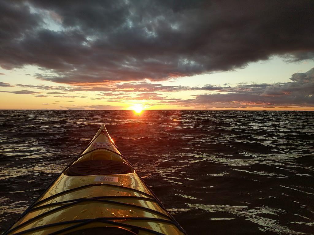 Norgate sunset paddle 2020
