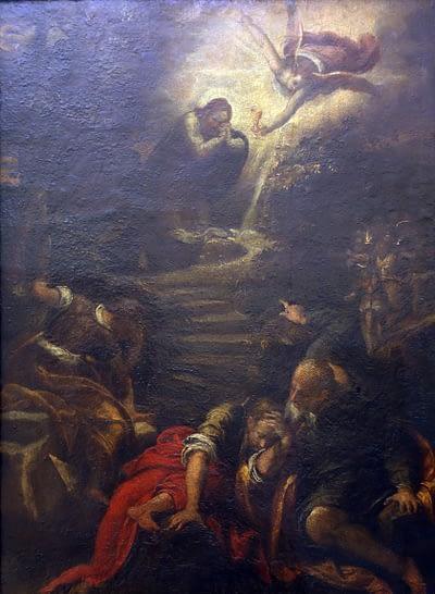 Jesus in the Garden of Gesthemane