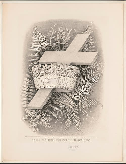 Triumph Of The Cross, Lithograph