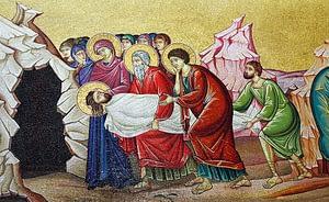 Mosaic Entombment of Jesus