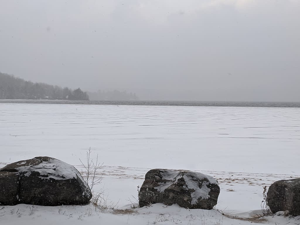 Papineau Lake To Find Ice Art Dec 2019