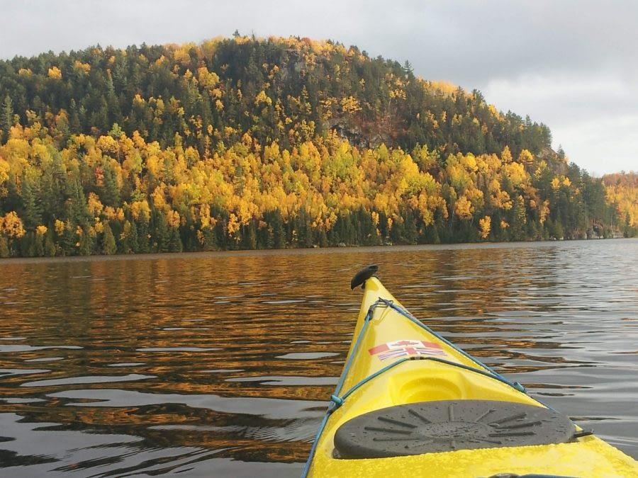 October 2017 on Bark Lake, Ontario