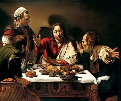 supper at Emmaeus /Caravaggio