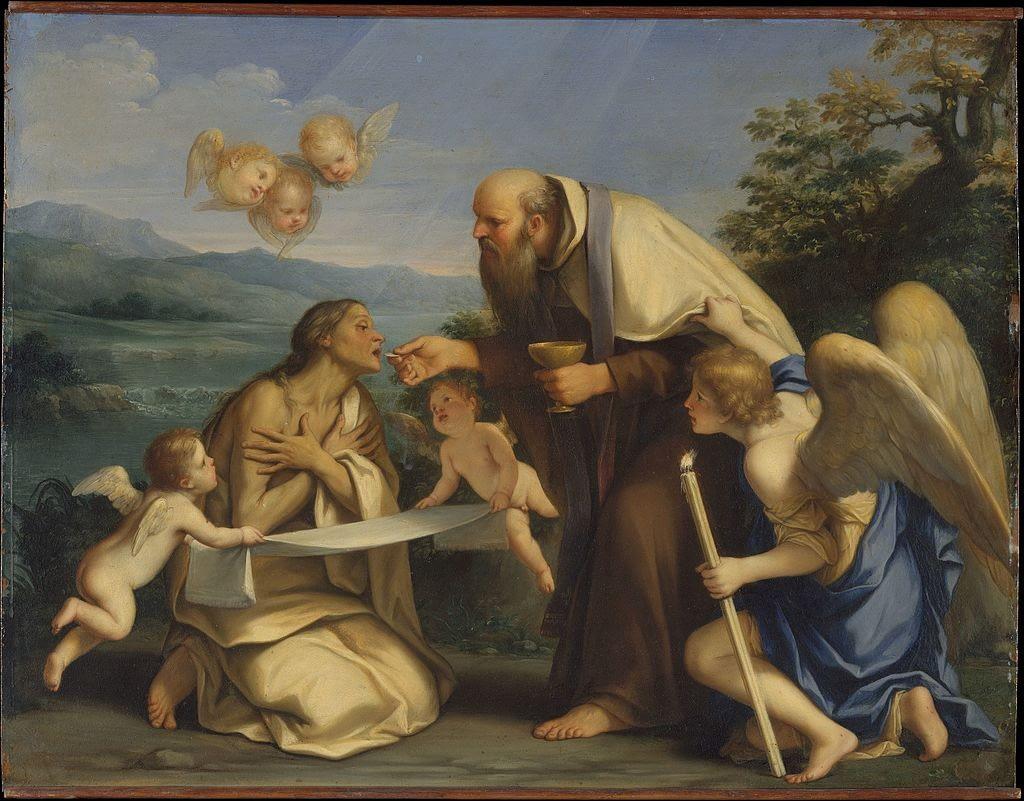 The Last Communion of Saint Mary of Egypt
