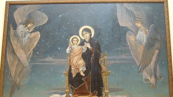 Mother of God in Russian Museum