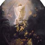 The Ascension of Jesus by Rembrandt Van Rijn