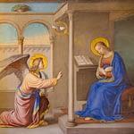 The Angel Gabriel announces the Incarnation