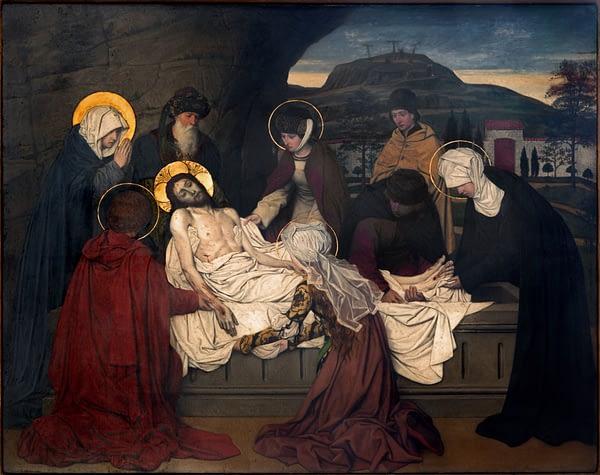 burial of Jesus painting by Joseph Janssens