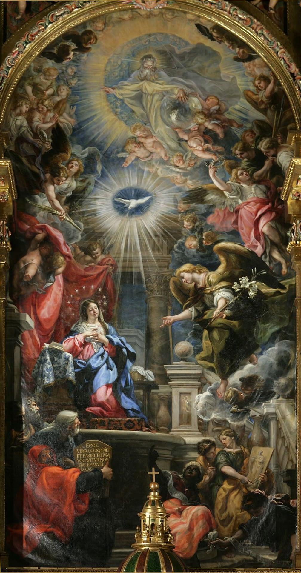 Annunciation by Claudio Coello