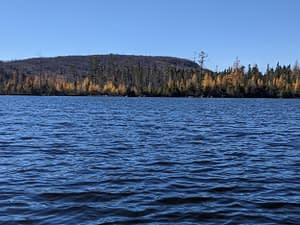 Bennet Lake near Comberemere, On Oct 29 2020