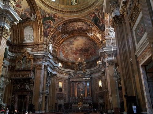 Chiesa del Gesu, Rome during Mother Teresa's Canonization 2016