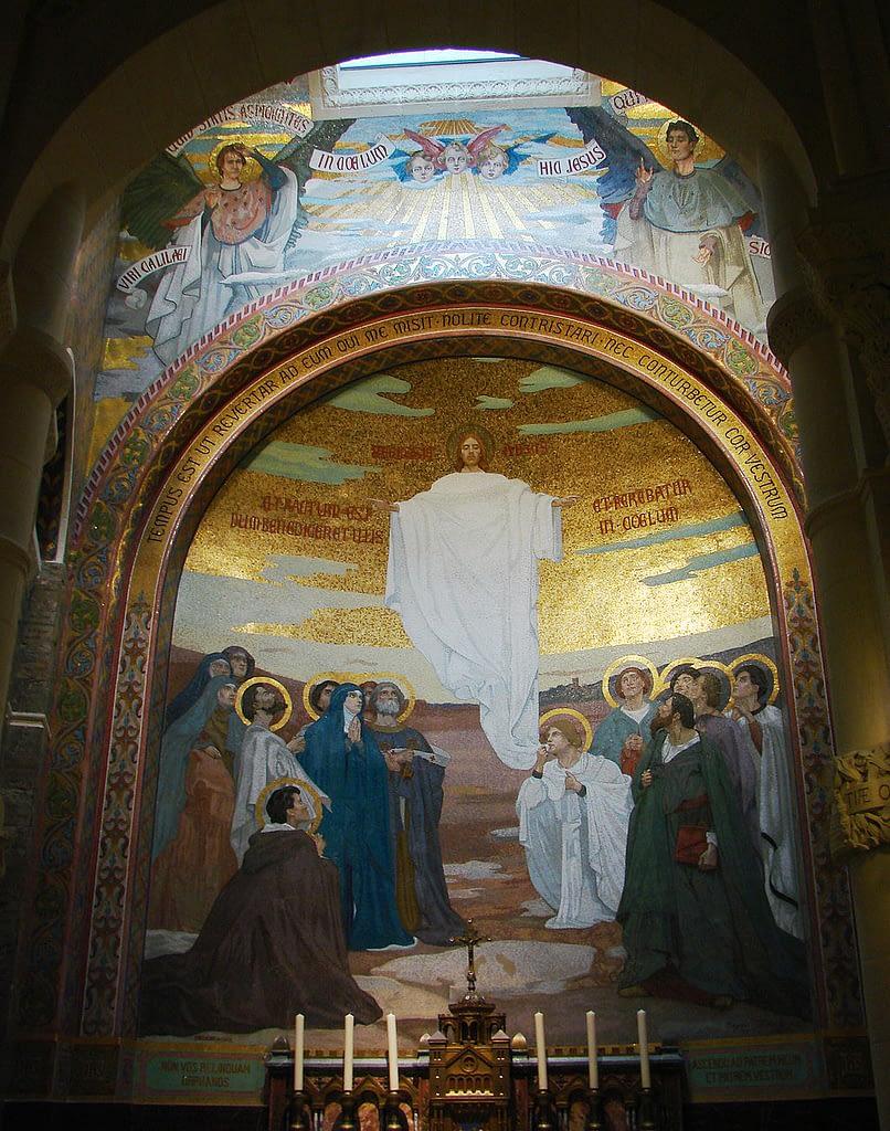 Ascension of Jesus (Rosary Basilica Lourdes)