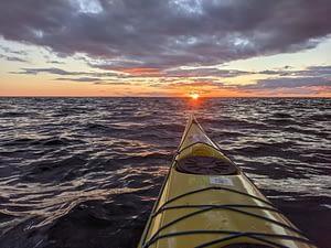 Norgate Islands Sunset Georgian Bay Aug 2020