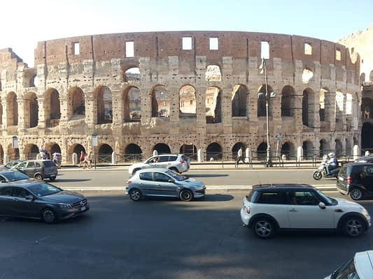 reflecting on St Ignatius at the Colosseum