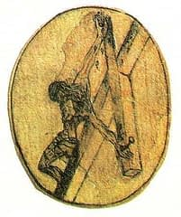 crucifiction sketch by St John of the Cross