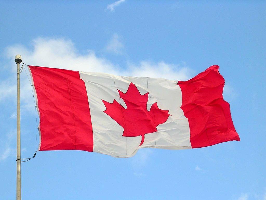 Canada flag halifax