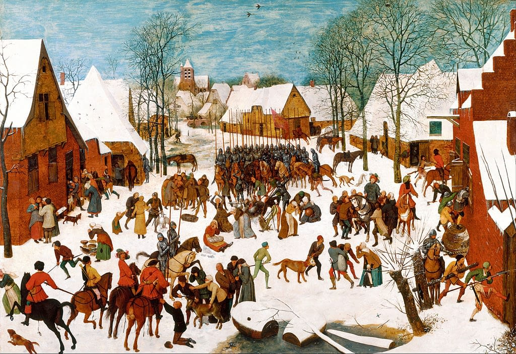 Massacre of the Innocents by Pieter Bruegel The Elder