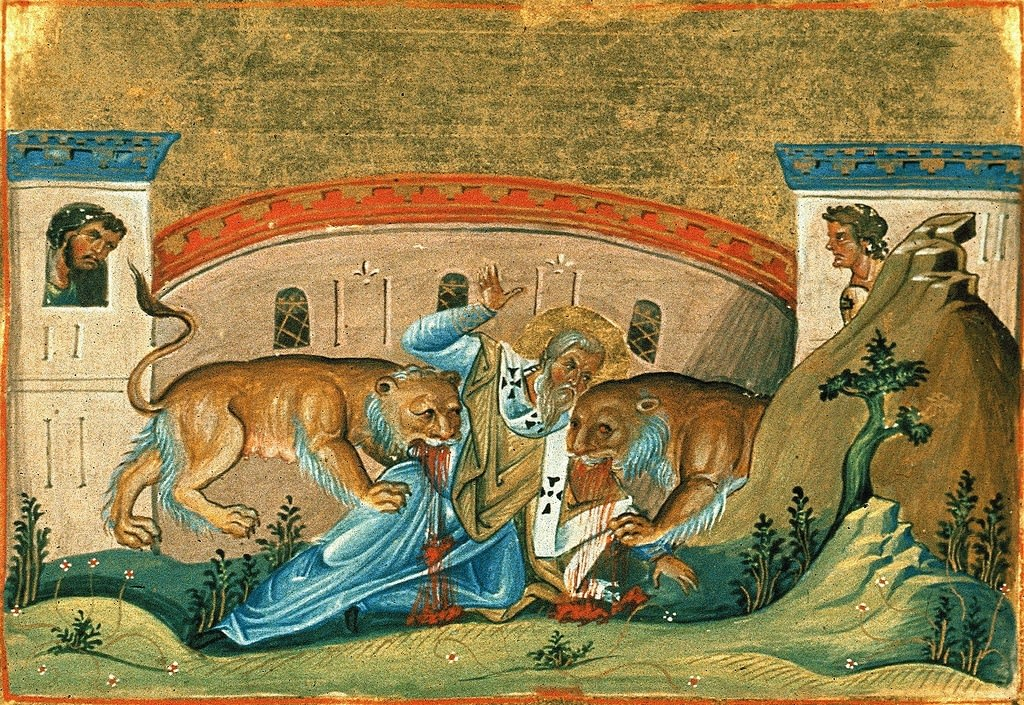 St Ignatius of Antioch in the Colosseum