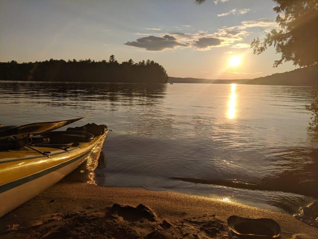 Bark Lake before Canada Day 2020