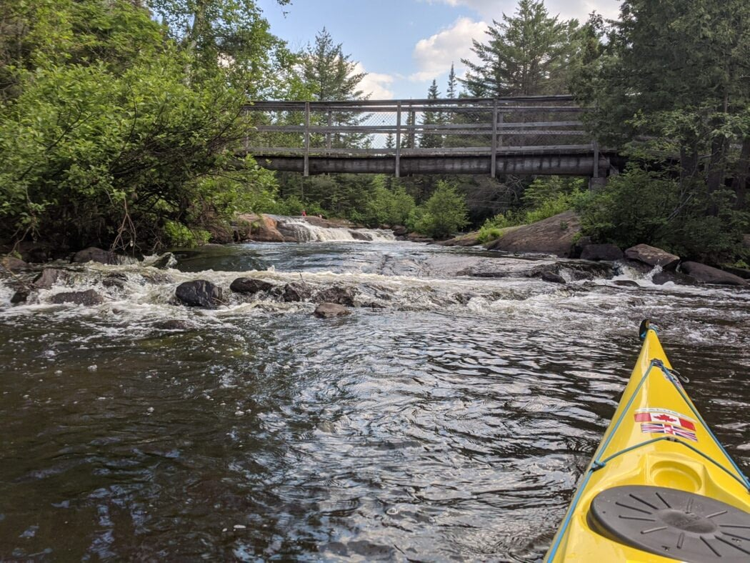 Mad River first portage July 1 2020