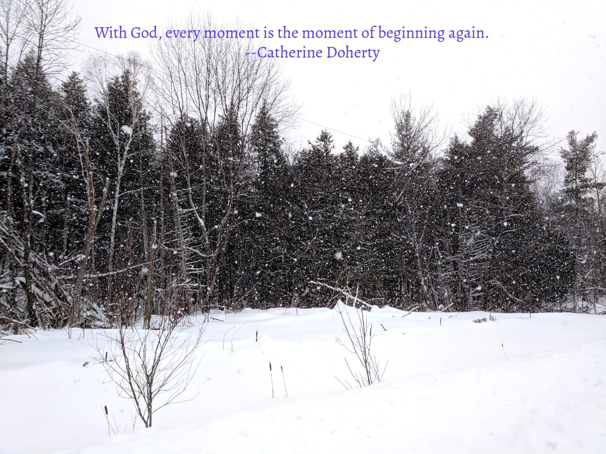 Catherine Doherty On God's Starting Again