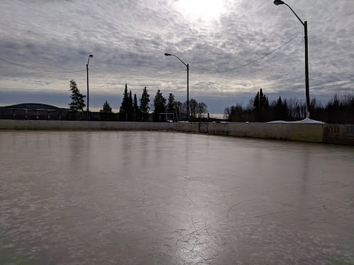 Foster Lake Rink March 2019