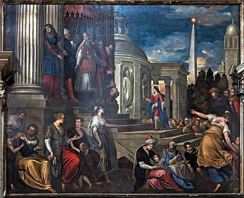 Chiesa_di_San_Zaccaria_Venezia_-_Presentazione_di_Maria_al_tempio_(1600_circa),_di_Antonio_Vassilacchi