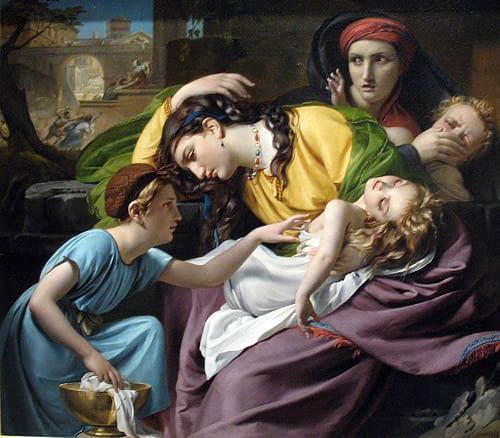 Massacre Of The Innocents by François-Joseph Navez