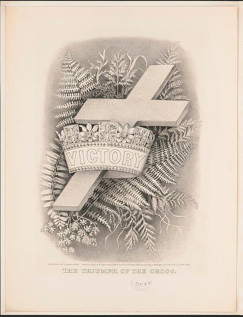 Triumph Of The Cross, Lithograph