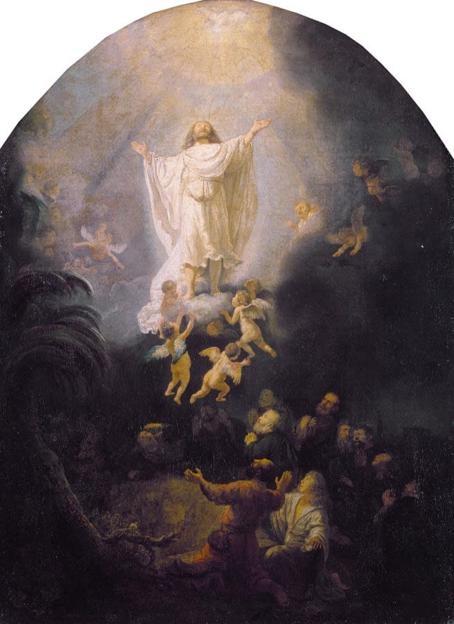 Rembrandt Van Rijin Ascension