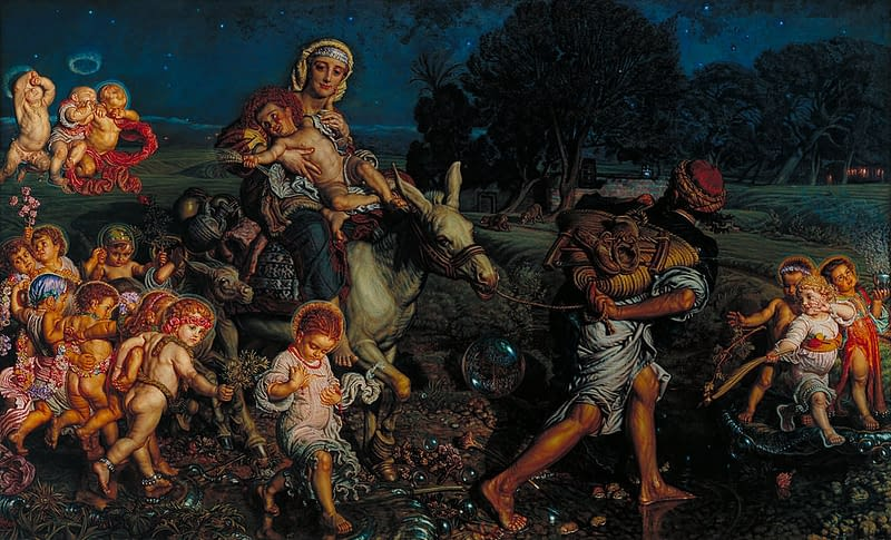 The Triumph of the Innocents by William Holman Hunt