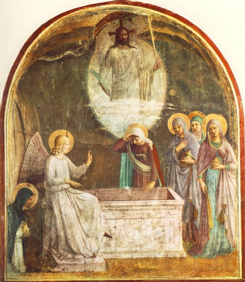 First moments of Christ's Resurrection