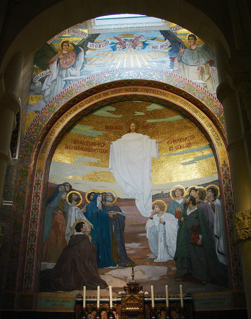 Ascension of Jesus (Rosary Basilica Lourdes)